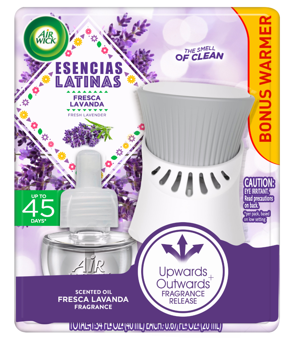 AIR WICK® Scented Oil - Essencias Latinas Lavender - Kit
