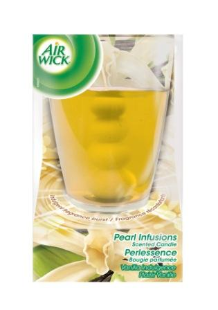 AIR WICK Pearl Infusion Scented Candle  Vanilla Indulgence Canada Discontinued Photo