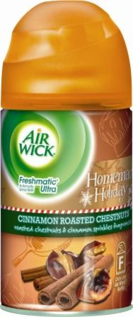 AIR WICK FRESHMATIC  Cinnamon Roasted Chestnuts Discontinued Photo