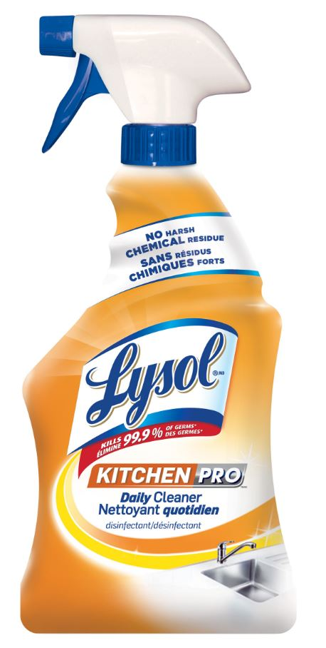 LYSOL® Kitchen Pro Daily Cleaner (Canada)