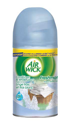 AIR WICK FRESHMATIC  Cool Linen  White Lilac Canada Photo