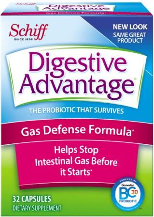 DIGESTIVE ADVANTAGE® Gas Defense Capsules