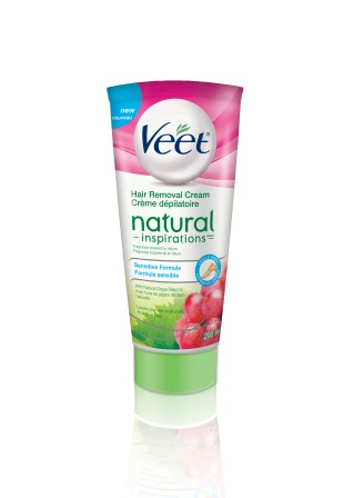 VEET® Natural Inspirations™ Hair Removal Cream - Sensitive Formula (Canada)