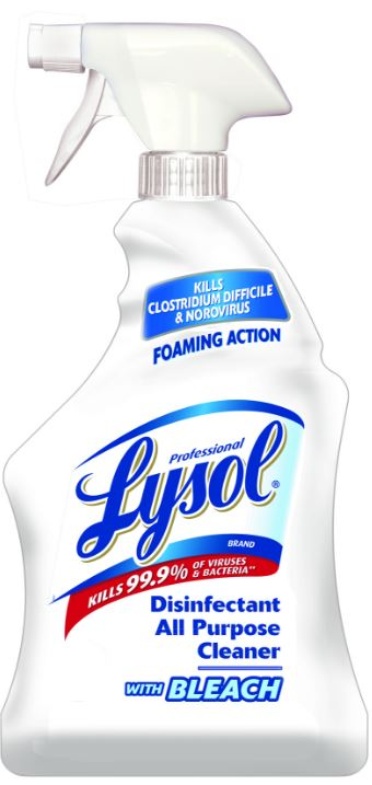 Professional LYSOL Disinfectant All Purpose Cleaner  Bleach Photo
