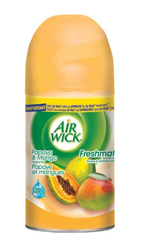 AIR WICK FRESHMATIC  Papaya  Mango Canada Discontinued Photo