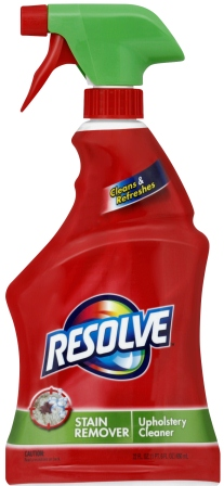 RESOLVE Stain Remover Upholstery Cleaner Photo