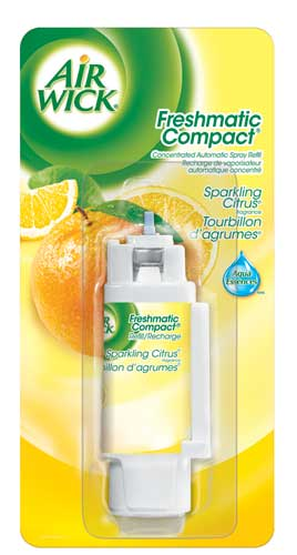AIR WICK FRESHMATIC Compact  Sparkling Citrus Canada Discontinued Photo
