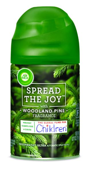 AIR WICK FRESHMATIC Ultra  Woodland Pine Spread The Joy Photo