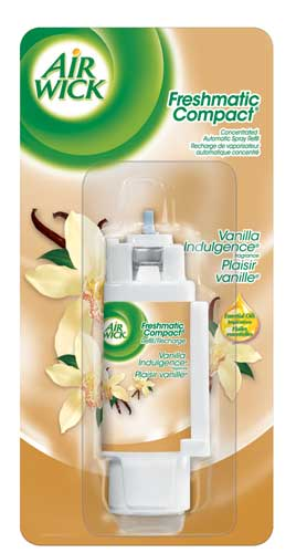 AIR WICK FRESHMATIC Compact  Vanilla Indulgence Canada Discontinued Photo