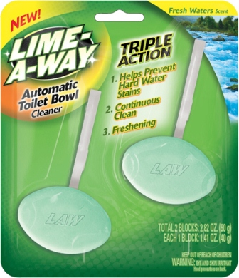 LIMEAWAY Automatic Toilet Bowl Cleaner  Fresh Waters Photo