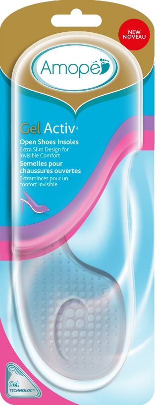 AMOPE® GelActiv™ Open Shoes Insoles