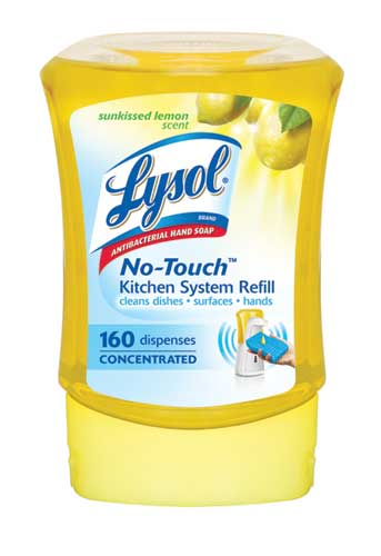 LYSOL NoTouch Kitchen System Refill  Sunkissed Lemon Canada Discontinued Photo