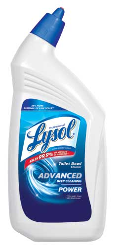 Professional LYSOL® Brand II Disinfectant Toilet Bowl Cleaner Advanced Deep Cleanning Power