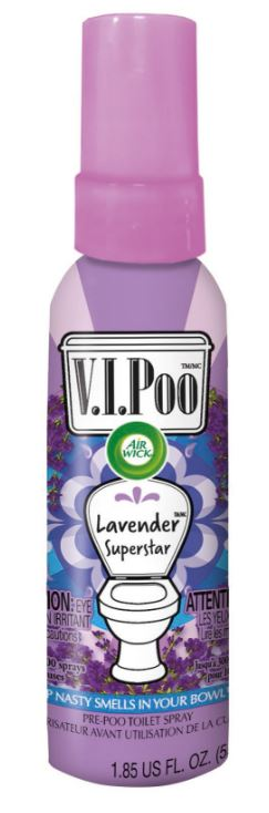 AIR WICK® VIPoo Pre-Poo Toilet Spray - Lavender Superstar (Canada)