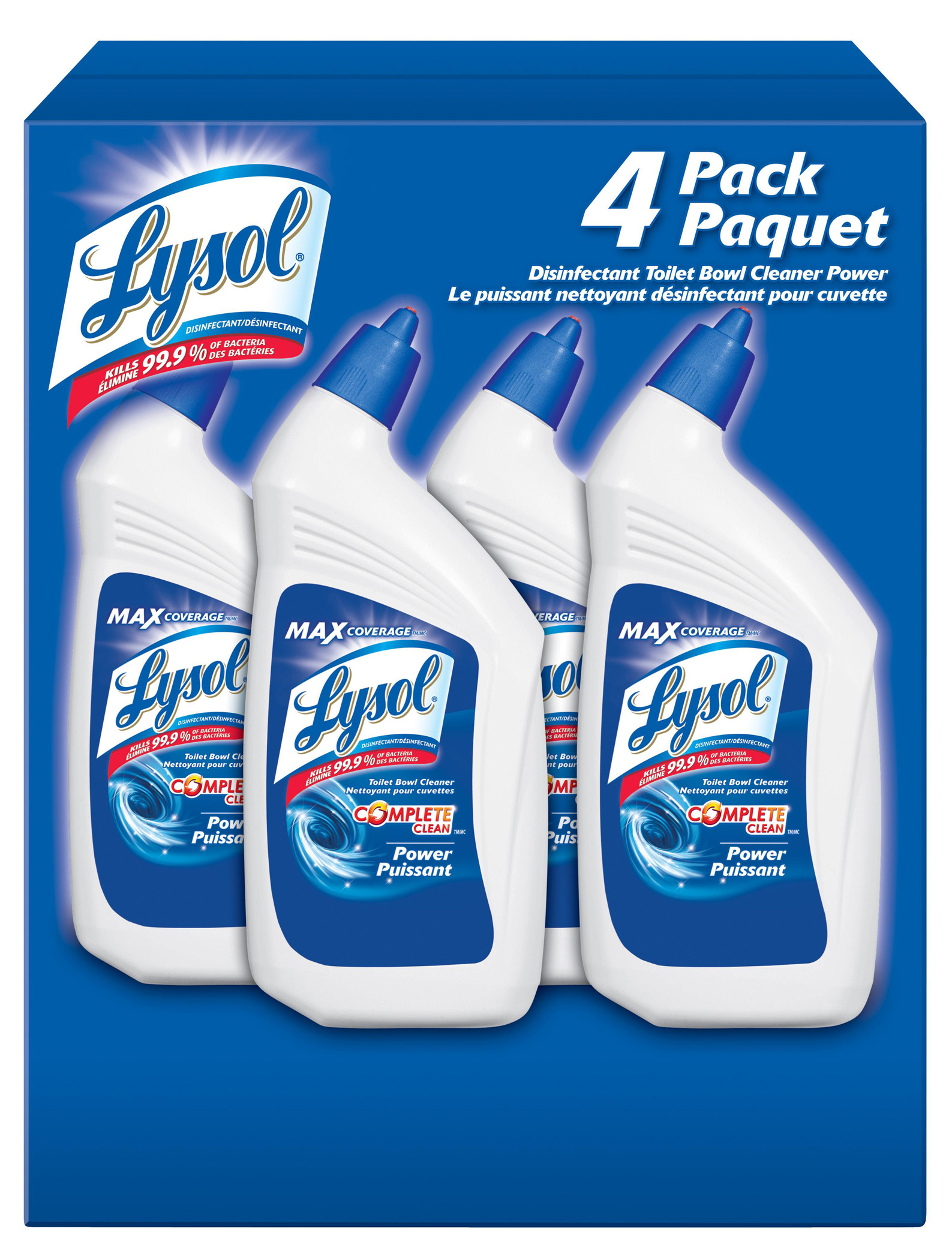 LYSOL Complete Clean Power  Toilet Bowl Cleaner Canada Photo