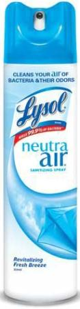 LYSOL NEUTRA AIR Sanitizing Spray  Revitalizing Fresh Breeze Photo