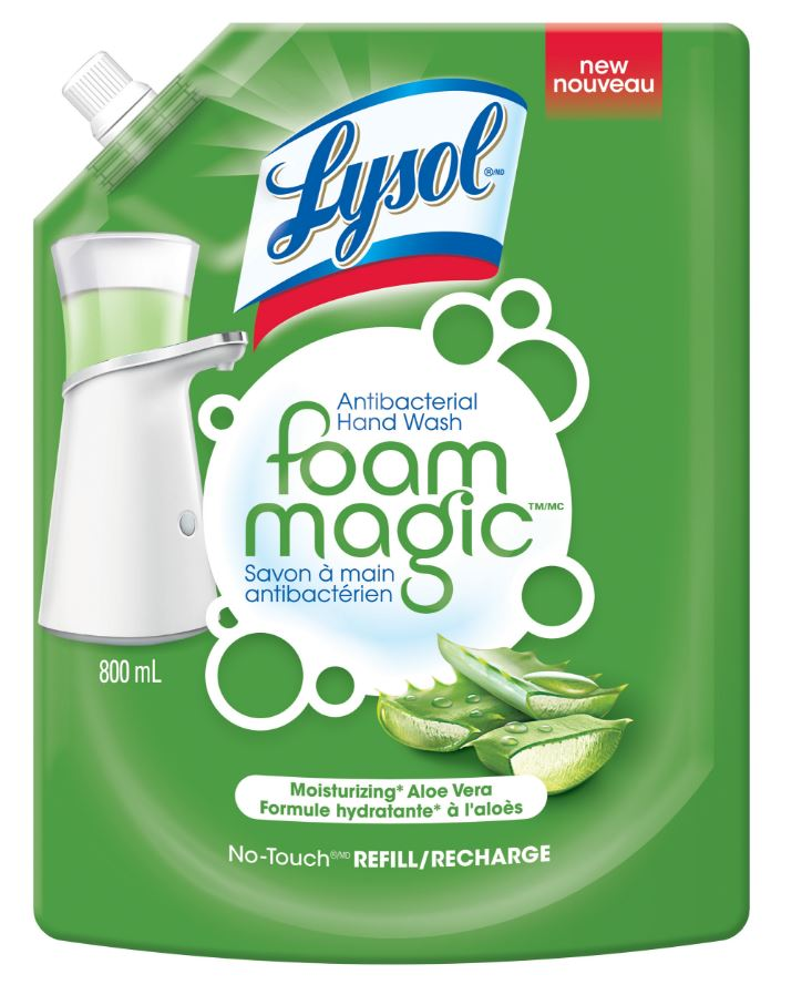 LYSOL® Foam Magic No-Touch - Aloe Vera (Canada)