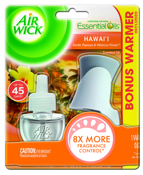 AIR WICK® Scented Oil Starter Kit - Hawaii Exotic Papaya & Hibiscus Flower