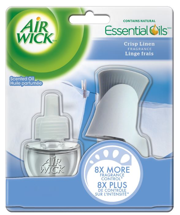 AIR WICK® Scented Oil - Kit - Crisp Linen (Canada)