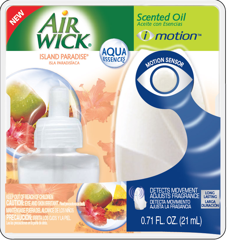 AIR WICK Scented Oil  Island Paradise  Kit Discontinued  Photo