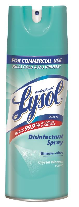 Professional LYSOL® Disinfectant Spray - Crystal Waters Scent