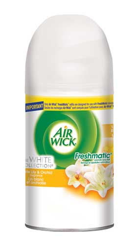 AIR WICK FRESHMATIC  White Lily  Orchids Discontinued Photo