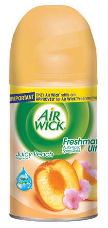 AIR WICK FRESHMATIC  Juicy Peach  Kit Discontinued Photo