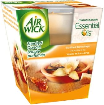 AIR WICK Candle  Vanilla  Brown Sugar Discontinued Photo
