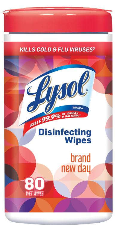 LYSOL® Disinfecting Wipes - Brand New Day