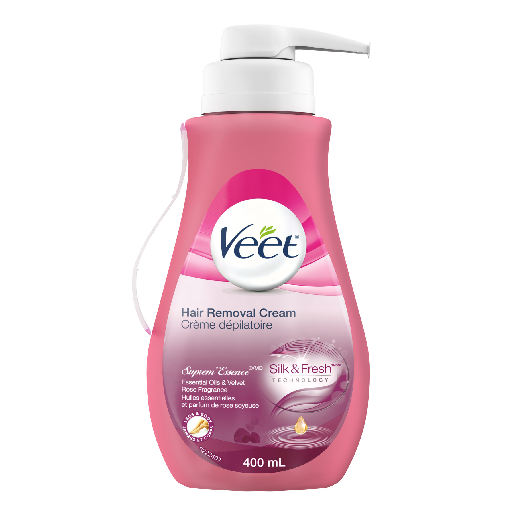 VEET® Silk & Fresh™ Hair Removal Cream Suprem'Essence® (Canada)