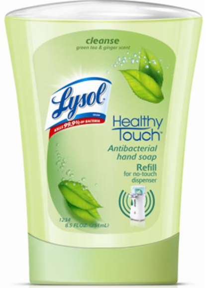 LYSOL NoTouch Hand Soap  Green Tea  Ginger Canada Photo