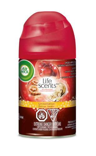 AIR WICK® FRESHMATIC - Spiced Apple Crumble (Life Scents™)  (Canada)