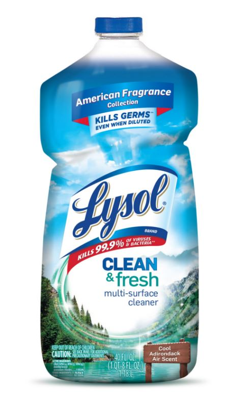 LYSOL® Clean & Fresh Multi-Surface Cleaner - Cool Adirondack Air
