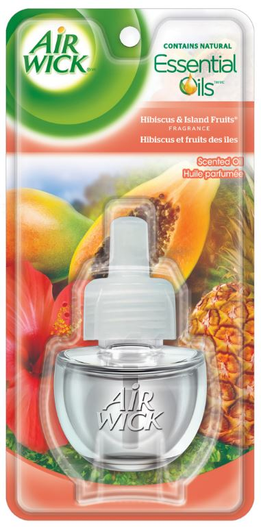 AIR WICK Scented Oil  Hibiscus  Island Fruits Canada Photo