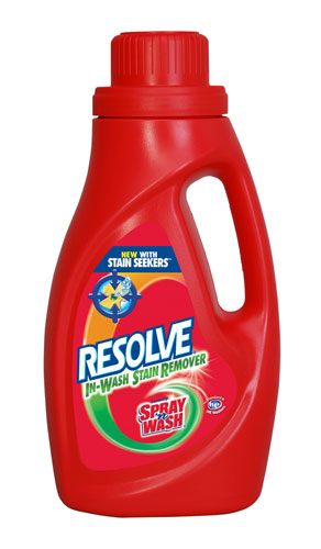 RESOLVE IN WASH Laundry Stain Remover  Photo