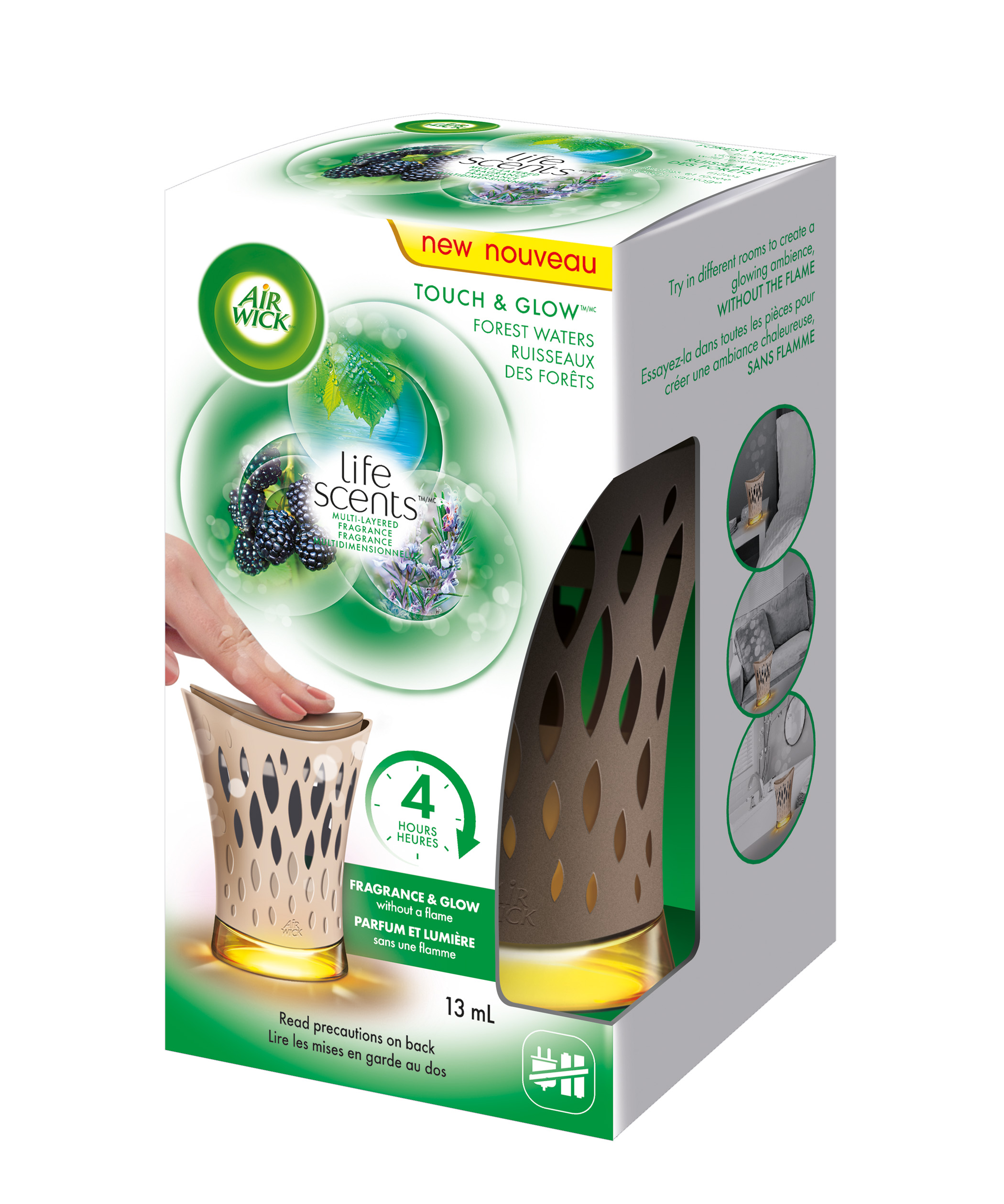 AIR WICK Touch  Glow Life Scents  Forest Waters Canada Photo