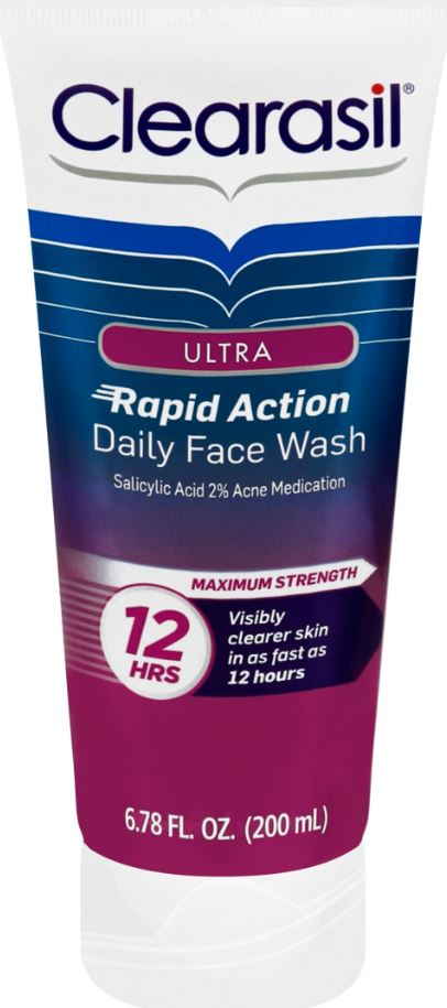 CLEARASIL Ultra Rapid Action Daily Face Wash Photo