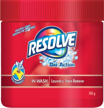 RESOLVE® Oxi-Action™ In-Wash Laundry Stain Remover - Powder (Canada)