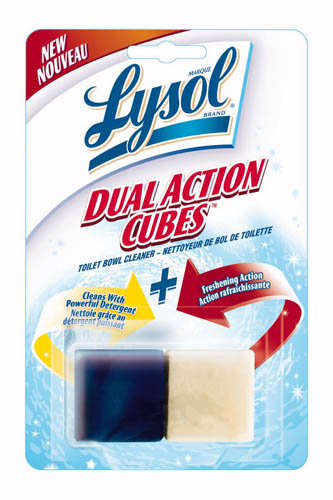 LYSOL Dual Action Cubes Toilet Bowl Cleaner Canada Photo