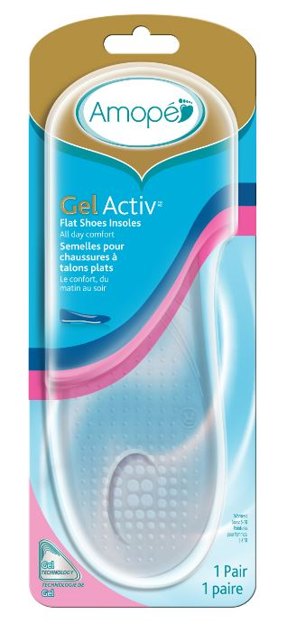AMOPE® GelActiv™ Flat Shoes Insoles (Canada)