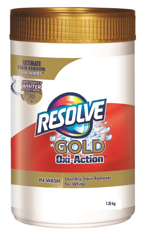RESOLVE Gold OxiAction InWash Laundry Stain Remover for Whites  Powder Canada Photo