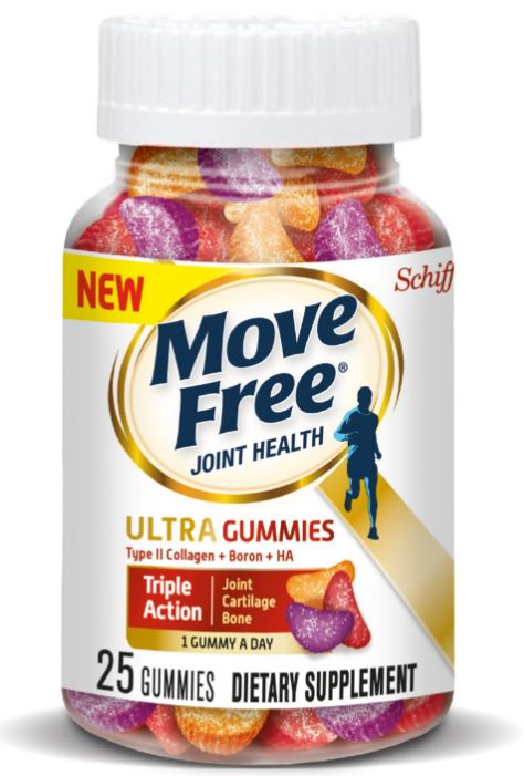 MOVE FREE® Ultra Gummies - Type II Collagen + Boron + HA
