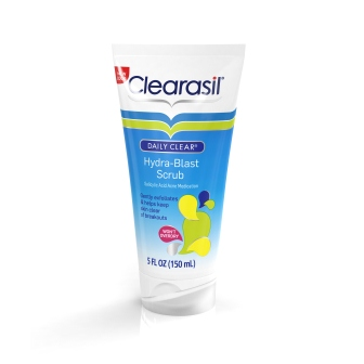 CLEARASIL Daily Clear HydraBlast OilFree Face Scrub Photo