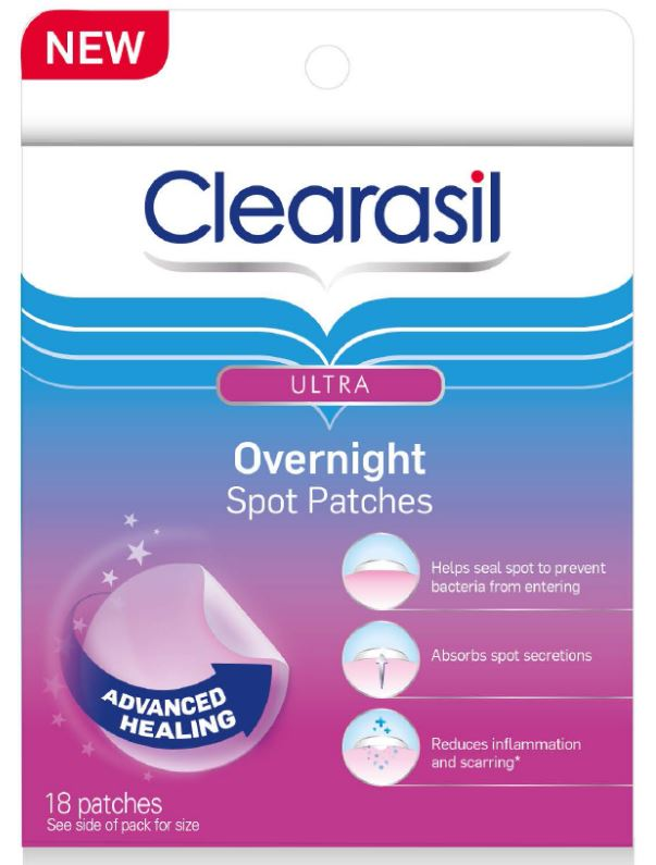 CLEARASIL® Ultra® Overnight Spot Patches