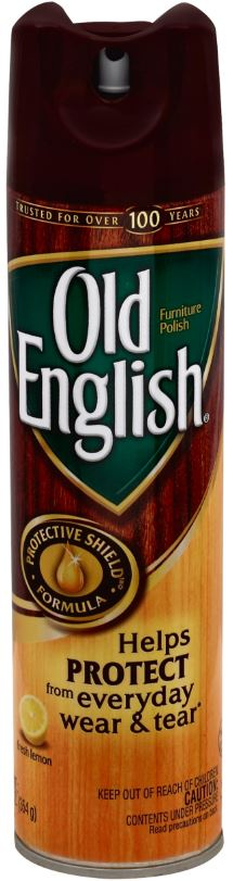 OLD ENGLISH Furniture Polish Aerosol  Fresh Lemon Photo