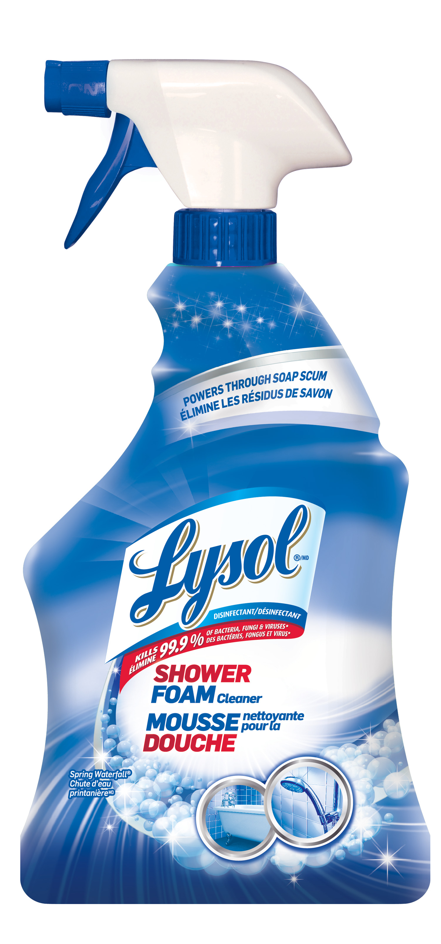 LYSOL® Disinfectant Shower Foam Cleaner - Spring Waterfall (Canada)
