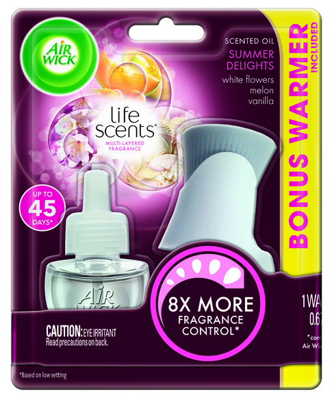 AIR WICK® Scented Oil Starter Kit - Summer Delights (Life Scents™)