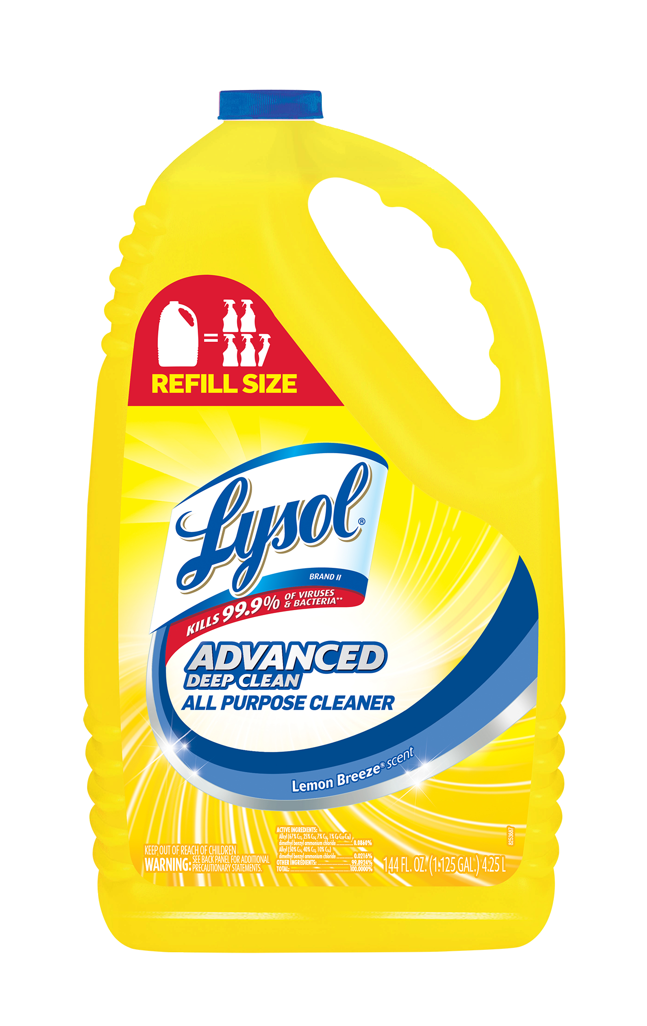 lysol brand iii all purpose cleaner 4 in 1 trigger. Black Bedroom Furniture Sets. Home Design Ideas