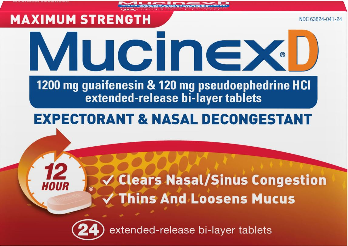 MUCINEX® D - Max Strength