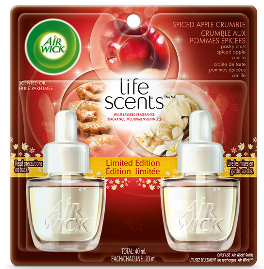 AIR WICK® Scented Oil - Spiced Apple Crumble (Canada)